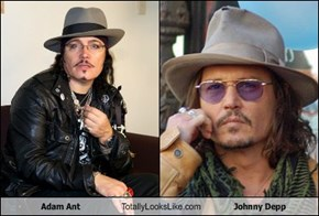 Adam Ant Totally Looks Like Johnny Depp