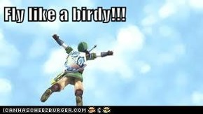 Fly like a birdy!!!
