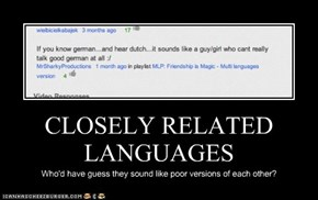 CLOSELY RELATED LANGUAGES