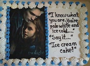 I Always Suspected Edward Was an Ice Cream Cake