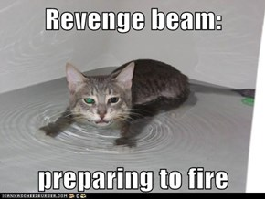 Revenge beam:  preparing to fire