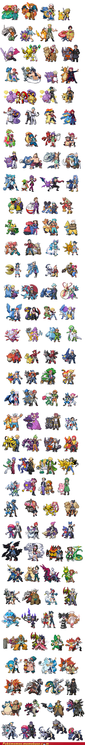 137 trainers! Gotta fight them all