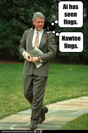 If socks cud tawk.