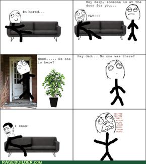 Sofa Stealing!