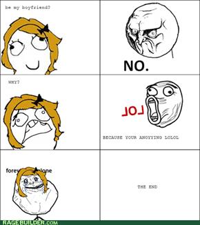 FOREVER ALONE GIRL