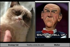 Grumpy Cat Totally Looks Like Walter