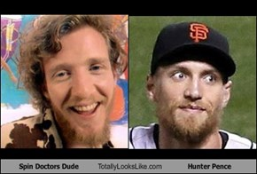Spin Doctors Dude Totally Looks Like Hunter Pence