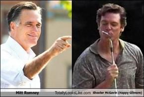 Mitt Romney Totally Looks Like Shooter McGavin (Happy Gilmore)
