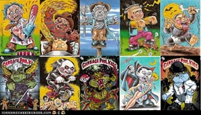 Garbage Pail Kids by Brent Engstrom