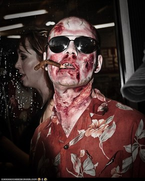 Zombie Hunter S Thompson