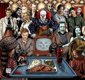 Horror on TV by Nathan Brent Millner