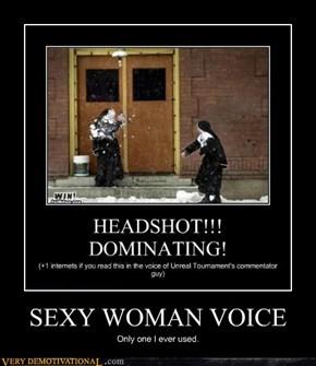SEXY WOMAN VOICE