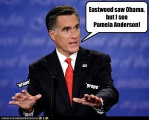 Eastwood saw Obama, but I see Pamela Anderson!