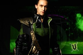 Loki cosplay from Armageddon in Auckland NZ