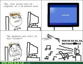 Always happens to me