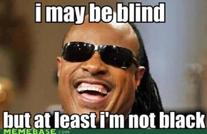 Stevie Wonder Doesn't See Race