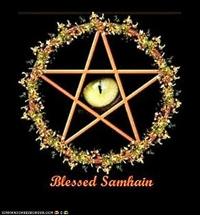 Erly for those ducking Sandy. Full Moon and Samhain Blessings and don't let the undead inhabit your body!