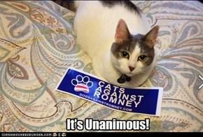 It's Unanimous!