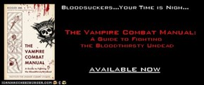 Now Available! The Vampire Combat Manual