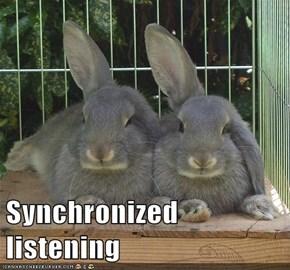 Synchronized listening