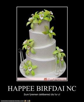 HAPPEE BIRFDAI NC