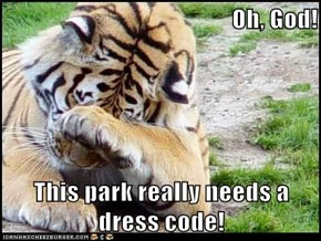 This park really needs a dress code!