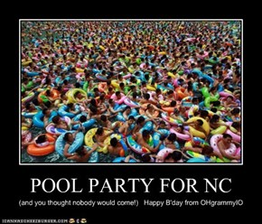 POOL PARTY FOR NC