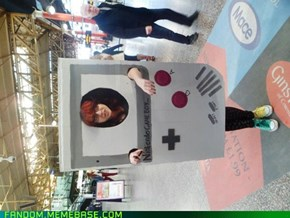 Gameboy cosplay