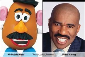 Mr.Potato Head Totally Looks Like Steve Harvey