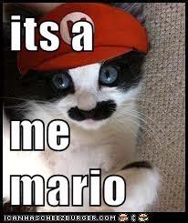 its a  me mario