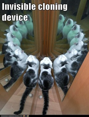 Invisible cloning device