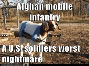 Afghan mobile infantry ... A U.S. soldiers worst nightmare