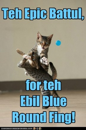Itz Round. Itz Blue. Itz EBIL!