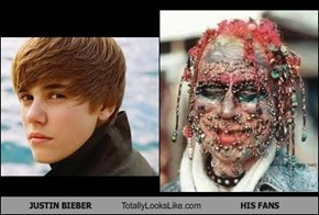 JUSTIN BIEBER Totally Looks Like HIS FANS
