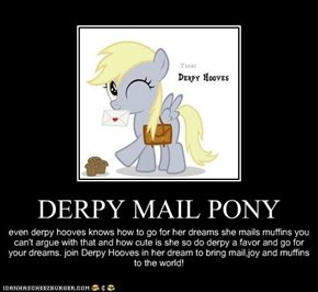 DERPY MAIL PONY