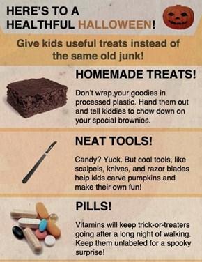 Here's to a Healthful Halloween!