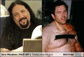 Jerry Macaluso ( FACE OFF ) Totally Looks Like Nick Frost