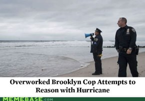 NYPD's response to Hurricane Sandy