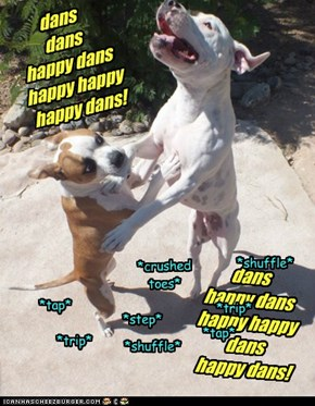 dans dans  happy dans happy happy happy dans!