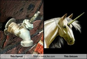 This Faucet Totally Looks Like This Unicorn