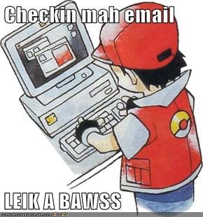 Checkin mah email  LEIK A BAWSS