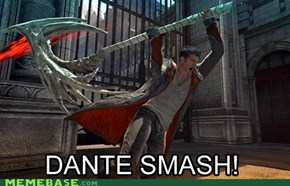 DANTE SMASH PUNY DEMONS!