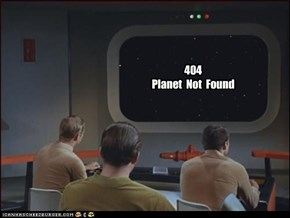 404  Planet  Not  Found
