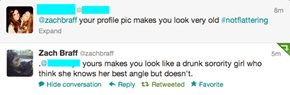 Zach Braff Doles Out the Harshness