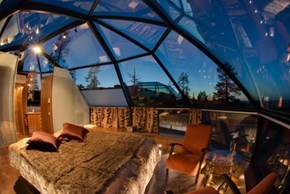Hotel Kakslauttanen in Finland, Perfect for Stargazing