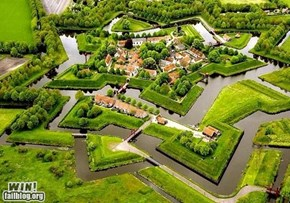 The Impenetrable Bourtange Fortress Groningen