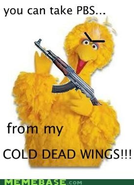 Big Bird has a response:
