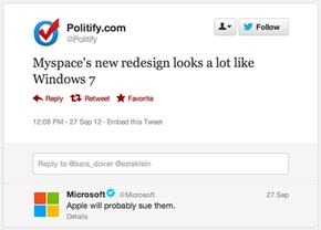 Ooh Snap, Microsoft Gettin' Sassy!