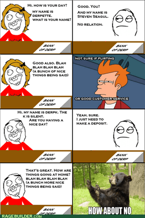 Another Homophobic Rage Comic