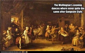 The Wellington's evening dances where never quite the same after Gangnam Style.